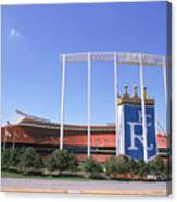 Kauffman Stadium Canvas Print