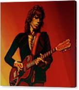 Keith Richards 3 Canvas Print