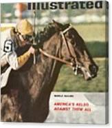 Kelso, 1961 Woodward Stakes Sports Illustrated Cover Canvas Print