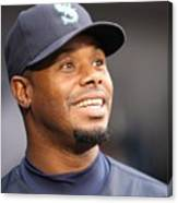 Ken Griffey Jr. Retires From Seattle Canvas Print