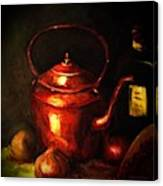 The Red Kettle Canvas Print