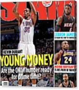 Kevin Durant: Young Money SLAM Cover Canvas Print