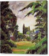 Kew Gardens, The Little Greenhouse, 1892 Canvas Print