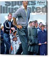 King Of Kings Arnold Palmer, 1929 - 2016 Sports Illustrated Cover Canvas Print