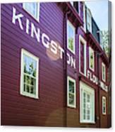 Kingston Flour Mill House Canvas Print