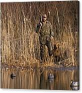 Kirk Gibson Goes Duck Hunting Canvas Print