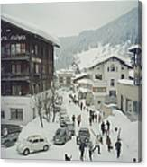 Klosters Canvas Print
