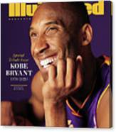 Kobe Bryant 1978 - 2020 Special Tribute Issue Sports Illustrated Cover Canvas Print