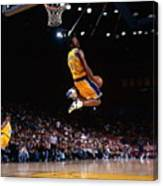 Kobe Bryant Action Portrait Canvas Print
