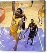 Kobe Bryant Classics Canvas Print