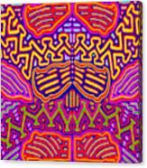 Kuna Butterfly Canvas Print