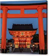 Kyoto Torii Gate Canvas Print