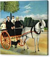 La Carriole Du Pere Junier - Digital Remastered Edition Canvas Print