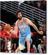 La Clippers V Chicago Bulls Canvas Print