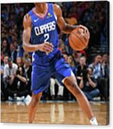 La Clippers V Oklahoma City Thunder Canvas Print