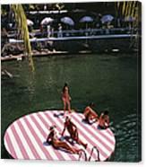 La Concha Beach Club Canvas Print