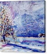 La Junta Winter Canvas Print