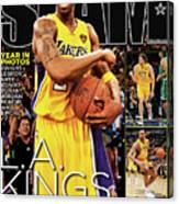 L.A. Kings: Kobe, Pau & Ron Put a Ring on It SLAM Cover Canvas Print