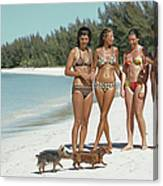 Ladies Of Lyford Cay Canvas Print