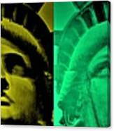 Lady Liberty For All Canvas Print