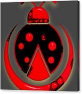 Ladybug Collection Canvas Print