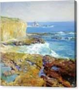 Laguna Rocks Low Tide 1916 Canvas Print