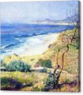Laguna Shores 1916 Canvas Print