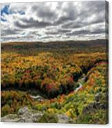 Lake Of The Clouds 10 Canvas Print