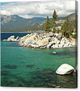 Lake Tahoe Landscape Canvas Print