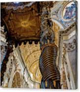 L'altare Di Bernini Canvas Print