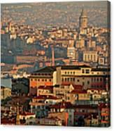 Landscape, Istanbul Canvas Print