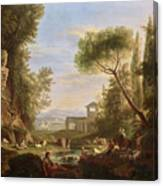 Landscape With Water Canvas Print