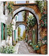 L'arco Dell'angelo Canvas Print
