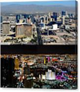 Las Vegas Night And Day Work A Canvas Print