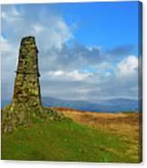 Latterbarrow In Lake District National Park Cumbria Canvas Print
