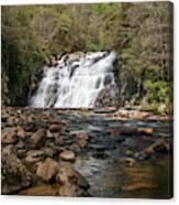 Laurel Falls In Spring I Canvas Print