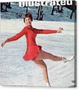 Laurence Owen, Figure Skating Sports Illustrated Cover Canvas Print