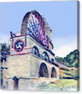 Laxey Wheel 6 Canvas Print