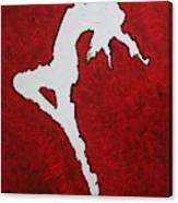 Leap Of Faith Original Painting Canvas Print