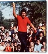 Lee Trevino, 1968 Us Open Sports Illustrated Cover Canvas Print