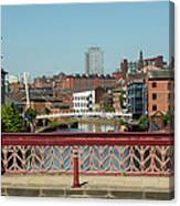 Leeds Waterfront Developments Canvas Print