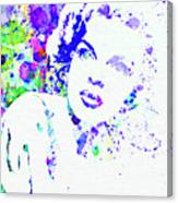 Legendary Judy Garland Watercolor I Canvas Print