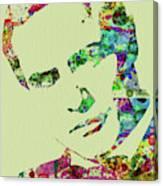 Legendary Marlon Brando Watercolor Canvas Print