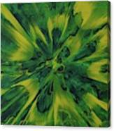 Lemon And Lime Ejecta Canvas Print