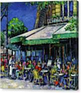 Les Deux Magots Paris Canvas Print