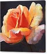 Lesla's Rose Canvas Print