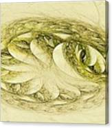 Let Sleeping Dragons Sleep Canvas Print
