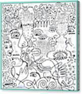 Let's Talk Art #02 Canvas Print