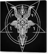 Leviathan Pentagram  Canvas Print
