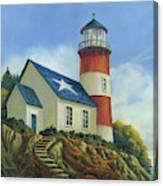 Liberty's Light Canvas Print